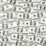 Texture of dollar banknotes Royalty Free Stock Images