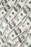 Texture of dollar banknotes Stock Photography