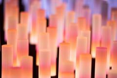 Texture douce de fond de tubes au néon Image stock