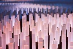 Texture douce de fond de tubes au néon Images libres de droits