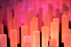 Texture douce de fond de tubes au néon Photos libres de droits