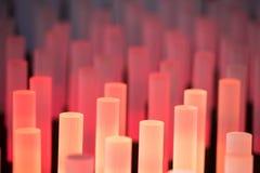Texture douce de fond de tubes au néon Images stock