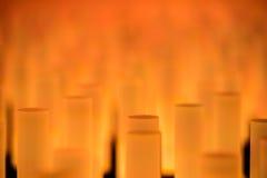 Texture douce de fond de tubes au néon Photographie stock libre de droits