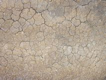 The texture of the dried mud. royalty free stock images