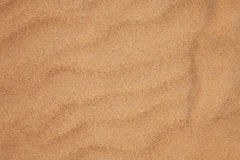 Texture of dry beach sand Royalty Free Stock Photos