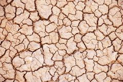 The Texture of Dry Red Mud royalty free stock photo