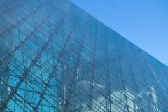 Texture du bâtiment en verre Image libre de droits