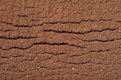 Texture du cafè moulu Photos stock