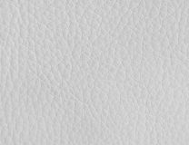 Texture du cuir blanc Photo stock