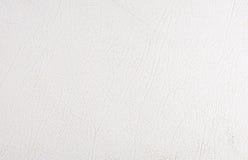 Texture du cuir blanc Image stock