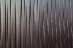Texture du feuillard ondulé Photo libre de droits