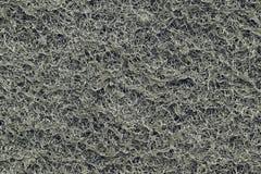 Texture du filtre synthétique noir de charbon Images stock