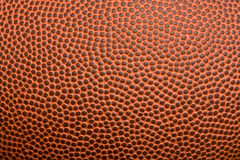 Texture du football Photographie stock