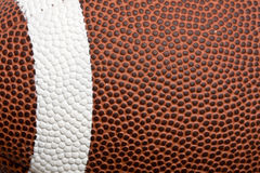 Texture du football Image libre de droits