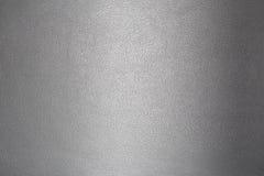 Texture du gris en cuir Photographie stock libre de droits