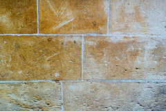 Texture du mur dans la vieille ville Photo stock