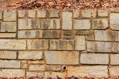Texture du mur en pierre Photo stock