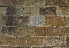 Texture du mur en pierre Images stock