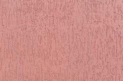 Texture du panneau rose de plâtre Photo stock
