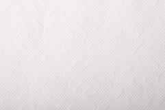 Texture du papier de soie de soie blanc Images libres de droits