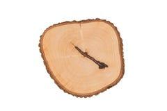 Texture du plan rapproché en bois d'isolement sur le fond blanc Photo stock
