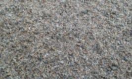 Texture du sable de rivière Photographie stock libre de droits