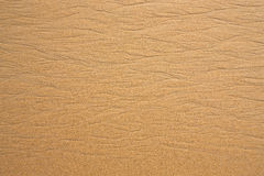 Texture du sable humide après une vague En nature Image libre de droits