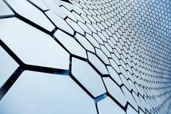 Texture du Soumaya de construction sous forme de nid d'abeilles images stock