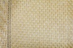 Texture du tapis en bambou Photographie stock libre de droits