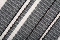 Texture du tissu de toile - fond Images libres de droits