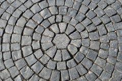 Texture du trottoir en pierre Image stock