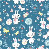 The texture of the Easter bunnies Royalty Free Stock Photo