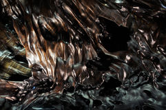 Texture of ebony Royalty Free Stock Images