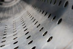 Texture el acero inoxidable Fotografía de archivo libre de regalías