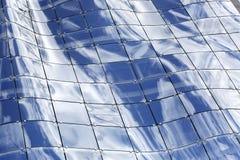 Texture of elegant design window in geometric shape Royalty Free Stock Photos