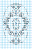 Texture embroidery Stock Image