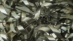 Texture embrouillée en métal Photographie stock libre de droits