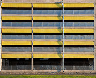 Texture of empty multilevel car parking Royalty Free Stock Image