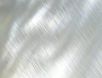 Texture en acier balayée en métal Images libres de droits
