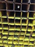 Texture en acier de boîte en métal Photos libres de droits