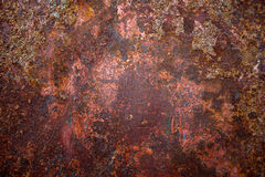 Texture en acier de fond de rouille Image stock