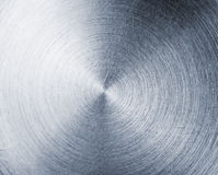 Texture en aluminium balayée image stock