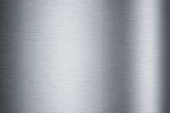 Texture en aluminium balayée Images stock