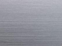 Texture en aluminium balayée réelle Images stock