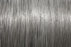 Texture en aluminium de traitement différé de fil photo libre de droits