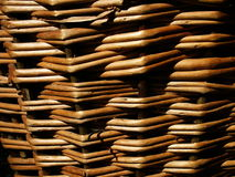 Texture en bambou Image libre de droits