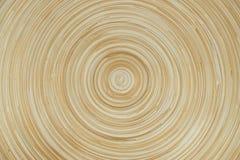 Texture en bambou circulaire pour le fond photographie stock