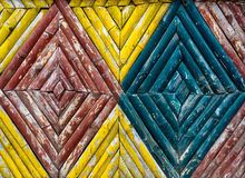 Texture en bambou de barrière Image libre de droits