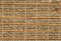 Texture en bambou de basktery Photographie stock