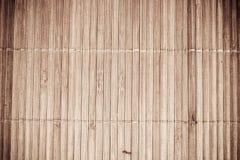 Texture en bambou de couvre-tapis Photographie stock libre de droits